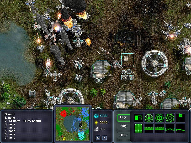Screenshot of Machines at War