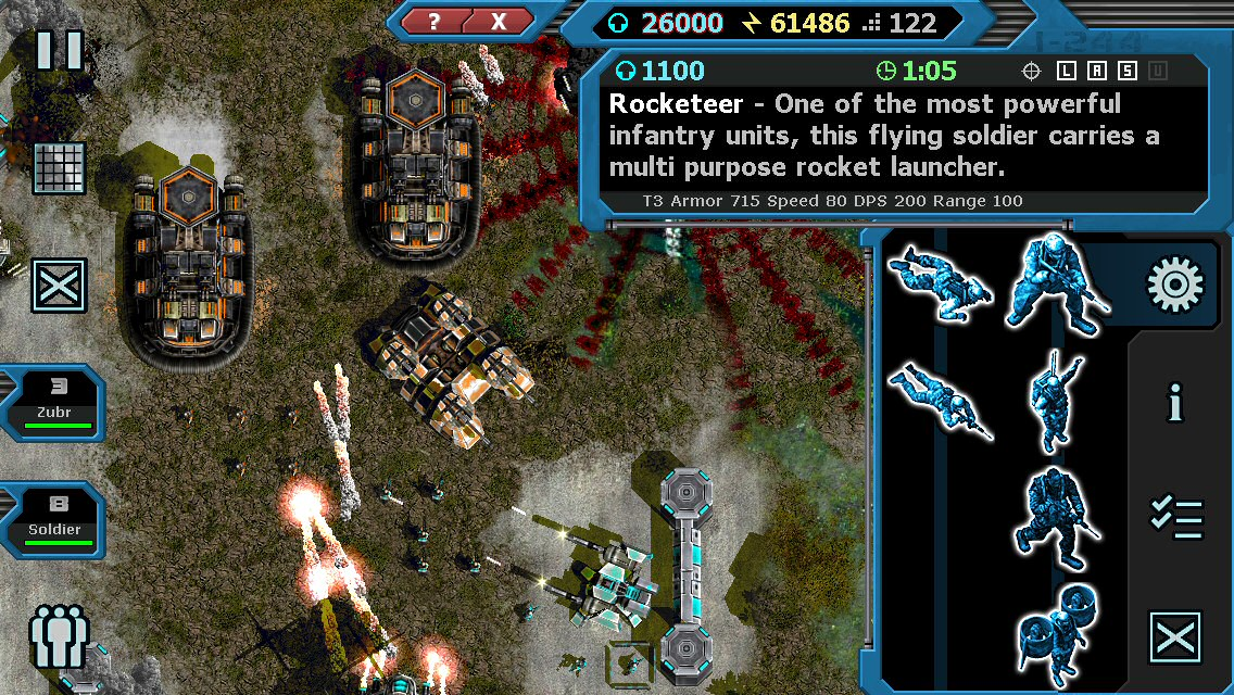 Machines at War 3 v2.0 Real Time Strategy Game Released for iOS Image